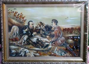 Картина охотники (40 х 60 см)