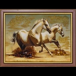 Картина Пара лошадей