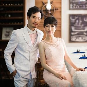 Фото семейной пары для изготовления портрета из янтаря