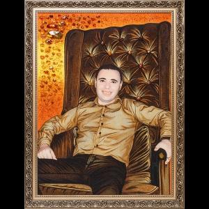 Создание янтарных портретов в Киеве по фото