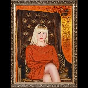 Производство портретов из янтаря в Киеве