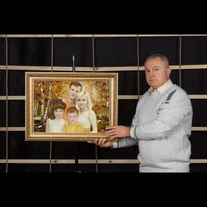 Янтарный портрет изготовленный в Янтарь - Дар солнца