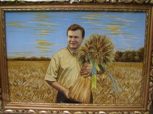 Портрет президента Украины