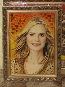 Изготовление портрета девушки